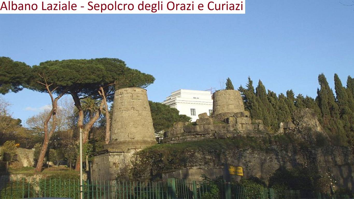 Albano-Laziale-Sepolcro-Orazi-e-Curiazi