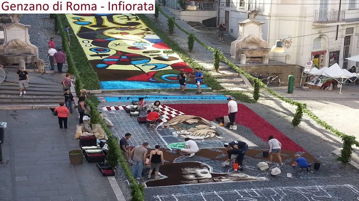 Hotel-Castel-Vecchio-Castel-Gandolfo-Dintorni-Genzano-Flowers-Festival