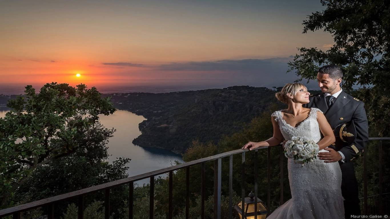 wedding-sunset-lake-villa-del-cardinale
